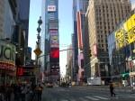 Da wollte auch der Wirtschaftsminister schon immer mal hin: Times Square, New York City (Foto: privat)