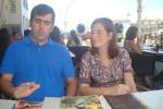 Eduardo Martínez Moriano und seine Frau Victoria (Foto: Vallendar)