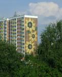 Sonnenblumenhaus in Rostock-Lichtenhagen (Foto: Wikipedia)